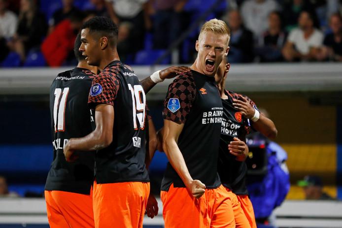 Het spel van Timo Baumgartl valt voorlopig goed in de smaak bij de meeste PSV-supporters.
