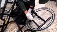 Vrouw (81) gearresteerd met cocaïne verstopt in rolstoel