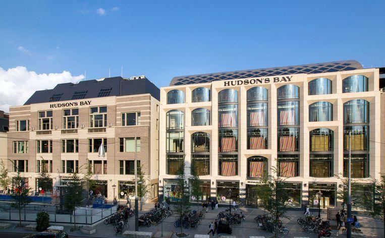 De Amsterdamse vestiging van warenhuis Hudson's Bay.  Beeld REUTERS