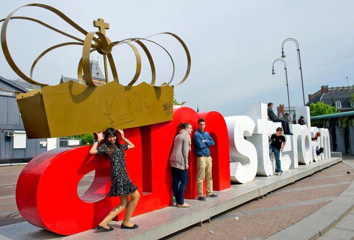 De letters tijdens Koninginnedag 2011