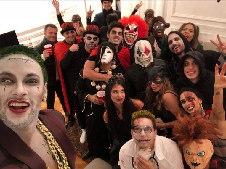 """Neymar: """"Mijn vrienden voor Halloween"""""""
