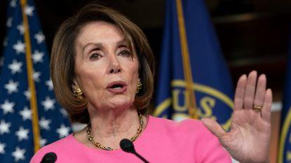 Huisvoorzitter Pelosi hoopt op interventie van Trumps familie na zijn woede-uitbarsting