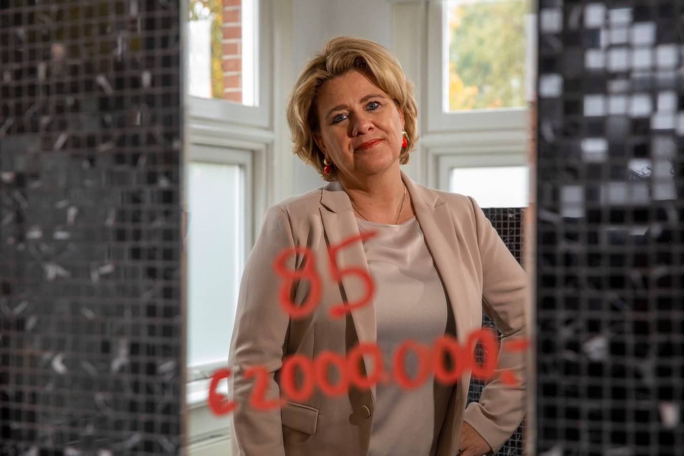 Olga van Harmelen: ,,Ik heb nog veel meer te doen.''