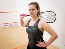 Op wedstrijden kan squashter Ter Sluis alleen hopen: 'Ik dacht: waar train ik nu in godsnaam voor'