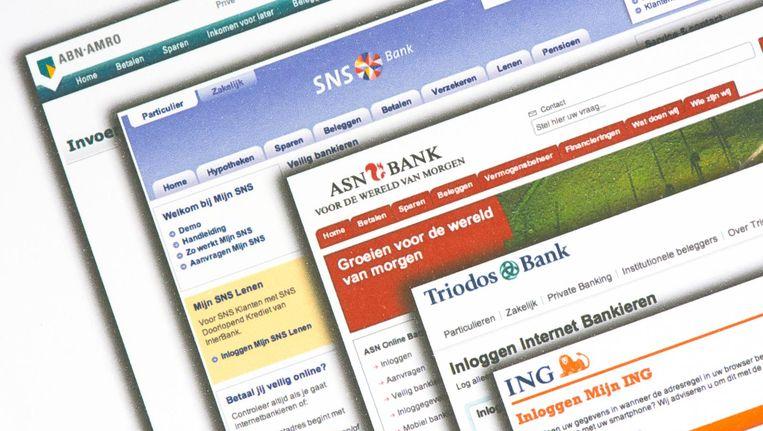 De aanvallers hebben in elk geval ING en de Garantiebank in het vizier Beeld anp