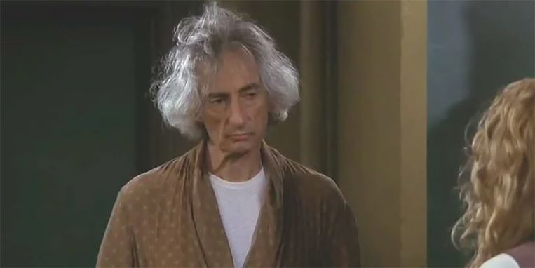 Larry Hankin als Mr. Heckles in 'Friends'.