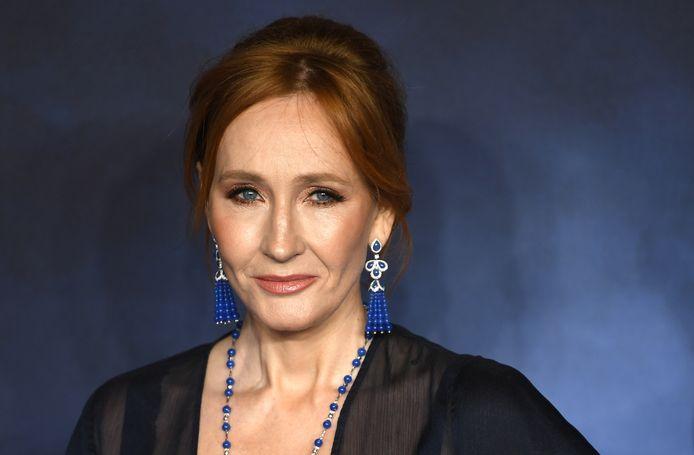 Schrijfster J.K. Rowling.