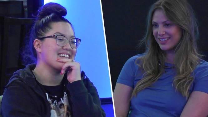 """Nieuwe huismeester Liese heeft intiem gesprek met Zoey in 'Big Brother': """"Ik heb nog nooit een orgasme gehad"""""""
