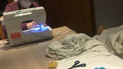 """OCMW en Steunpunt Welzijn starten met #blijfinuwkot-atelier: """"Mondmaskers stikken en handgel maken"""""""