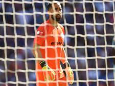 Zware blessure voor Manchester City-doelman Bravo