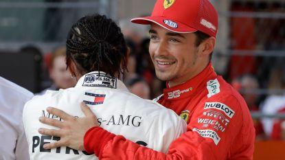 'Schumi' achterna: Charles Leclerc pakt vierde pole op rij voor Ferrari in Sotchi
