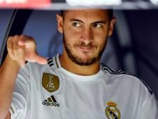 "La presse espagnole met la pression sur Hazard: ""Bernabeu t'attend"""