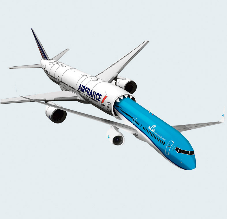 Slokt Air France KLM op?