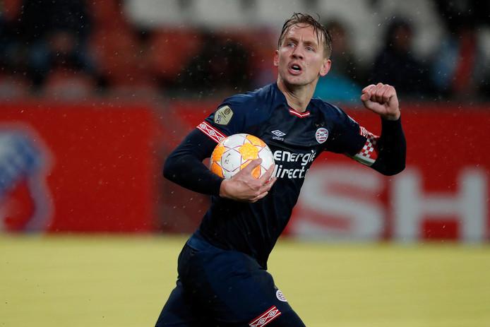 Aanvoerder Luuk de Jong van PSV.