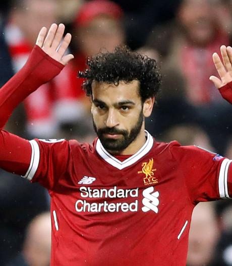 Salah pakt Afrikaans record af van Eto'o en nadert Liverpool-icoon Rush