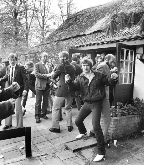 Janmaat in Brabant in 1984: agressieve actievoerders schieten zelfs met pistool op touringcar Centrumpartij