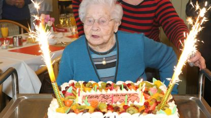 Yvonne Struys viert 106de verjaardag