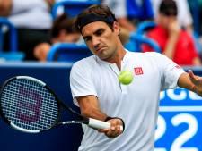 Federer bij laatste acht in Cincinnati