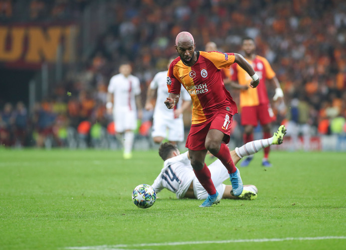 Ryan Babel in actie namens Galatasaray.