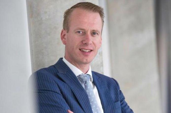 Cees van den Bos, de nieuwe burgemeester van Urk.