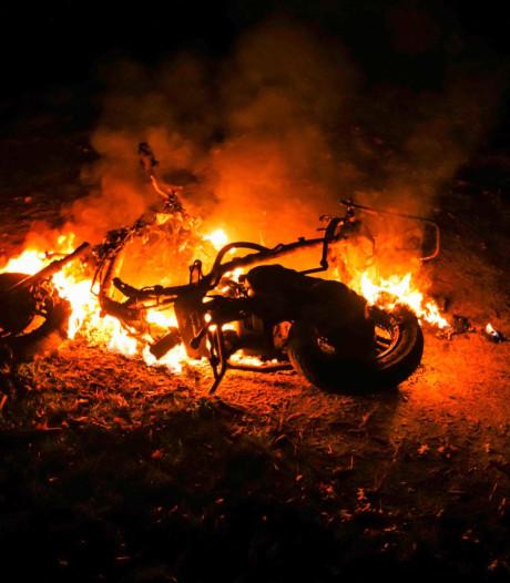 Scooter in brand gestoken in Geldrop
