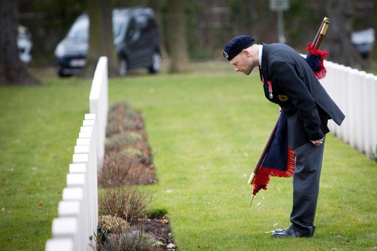 Een Britse delegatie zakte vorig jaar naar Leopoldsburg af om de slachtoffers van de tweede wereldoorlog te herdenken.
