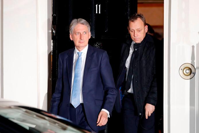 Minister van Financiën Philip Hammond.