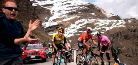Ook zónder Gavia kan het Giro-peloton vandaag zijn borst natmaken