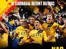 NAC presteert op vijf na beste in carnavalstijd afgelopen 11 jaar: 11 punten uit 11 duels