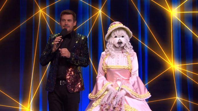 De hond van de Masked Singer