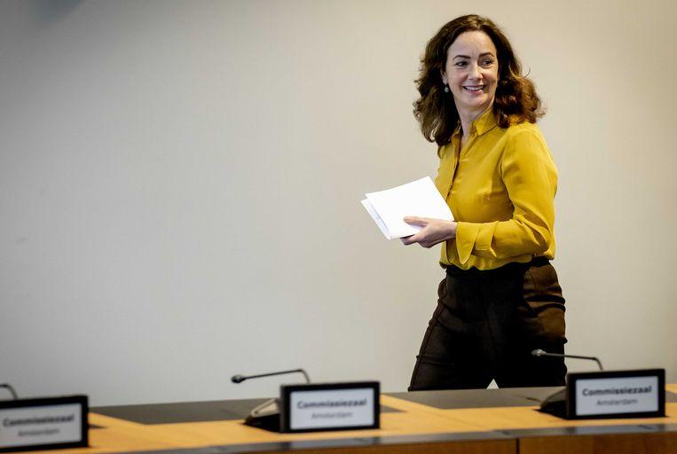 Burgemeester Femke Halsema. Beeld ANP