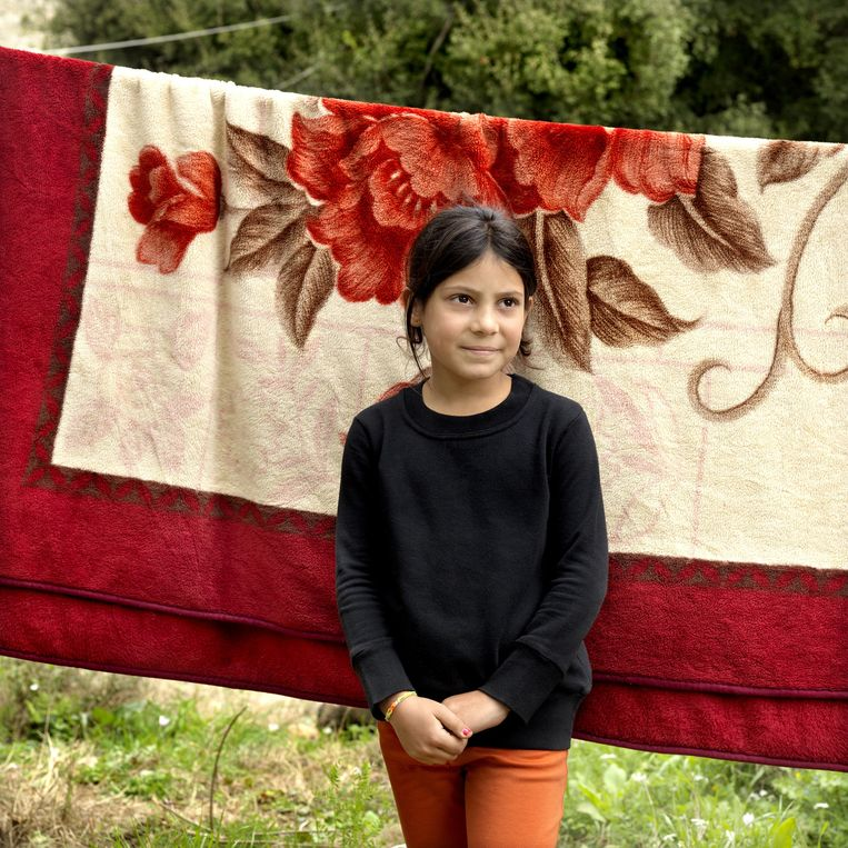 Baara Aantar komt uit een buitenwijk van Damascus. Beeld Marieke van der Velden