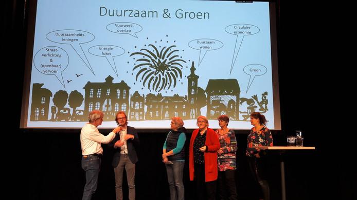 De werkgroep Duurzaam & Groen licht zijn plannen nader toe.