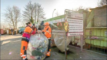 Brandbaar afval naar containerpark niet langer gratis