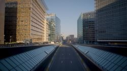 Prachtige beelden van verlaten straten in België