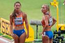 Emma Oosterwegel en Nadine Broersen.