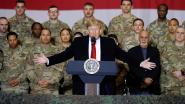 """Trump brengt verrassingsbezoek aan Afghanistan: VS zullen zich """"substantieel"""" terugtrekken"""