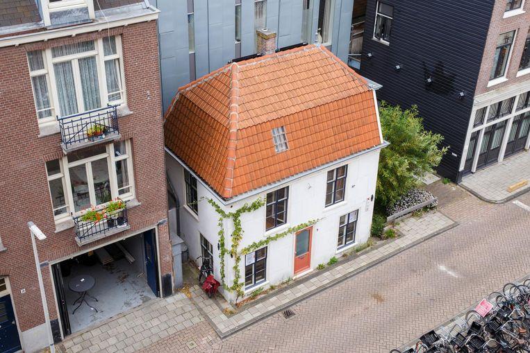 Het Polderhuis aan de Rustenburgerstraat. Beeld Carly Wollaert
