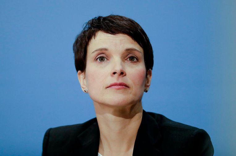 Frauke Petry, leider Alternative für Deutschland Beeld ap