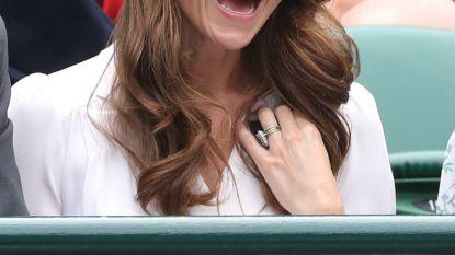 IN BEELD. Kate amuseert zich kostelijk op Wimbledon