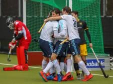 HC Tilburg stunt met puntje tegen HC Den Bosch in matige derby