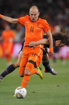 Arjen Robben komt definitief niet naar Tiels sportpark De Lok