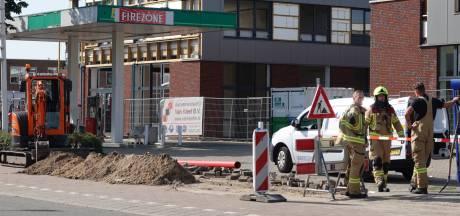 Groot gaslek aan Klaphekweg Ede: tankstation Firezone afgesloten uit voorzorg
