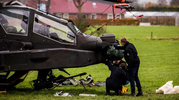 Defensie en Justitie: nog geen uitspraken over onderzoek Apache