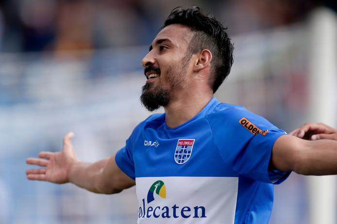 Reza Choochannejhad is de grote man bij PEC Zwolle.