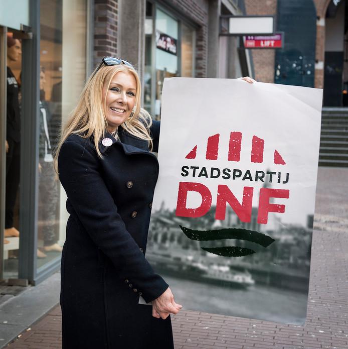 Wendy Grutters van Stadspartij DNF.