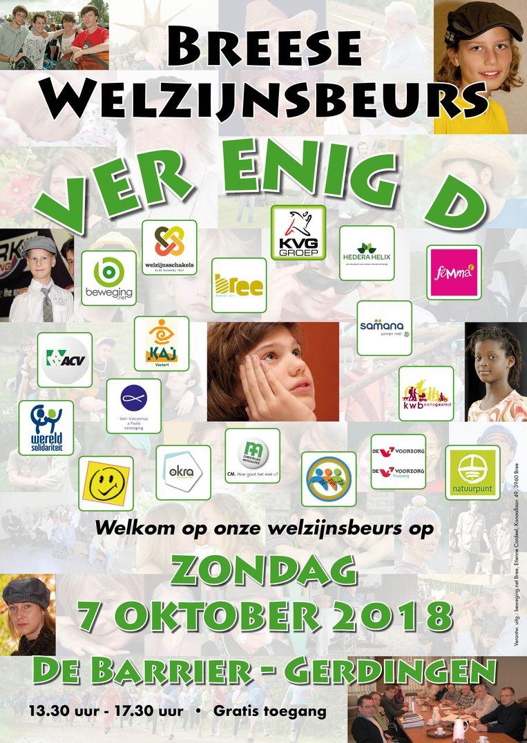 De affiche van de Welzijnsbeurs.