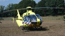 Traumahelikopter.