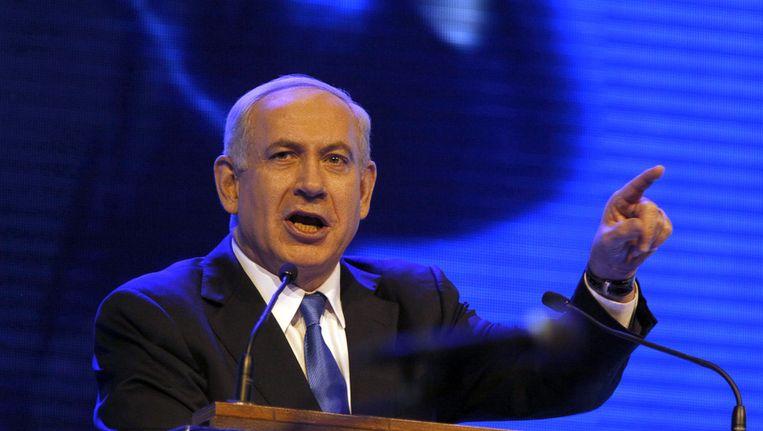 Benjamin Netanyahu Beeld AFP