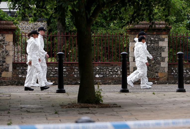 Bij de steekpartij kwamen drie mensen om het leven en raakten drie mensen gewond.